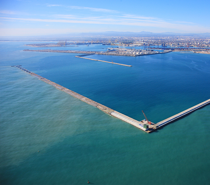 Civil works > Marine > Expansion Port of Valencia