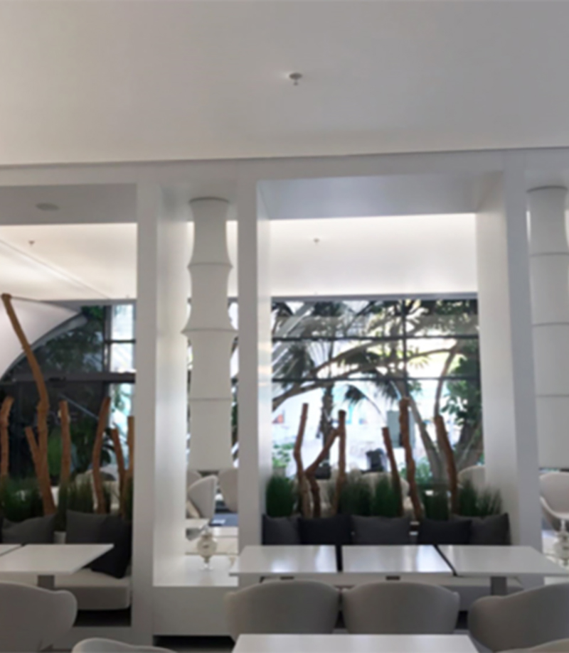 AMPLIACIÓN DEL COMEDOR EL HOTEL MELIÁ, EN BENIDORM. ALICANTE