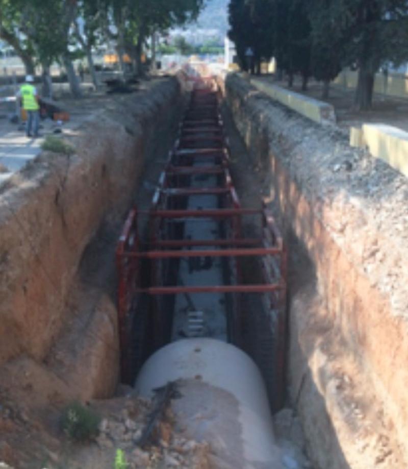 CONSTRUCCIÓN ALIVIADERO DEL COLECTOR CENTRAL EN XÀTIVA (VALENCIA)