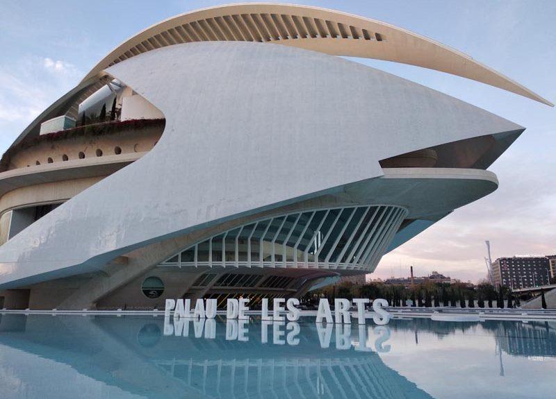 Imágen rótulos Palau de les Arts 1