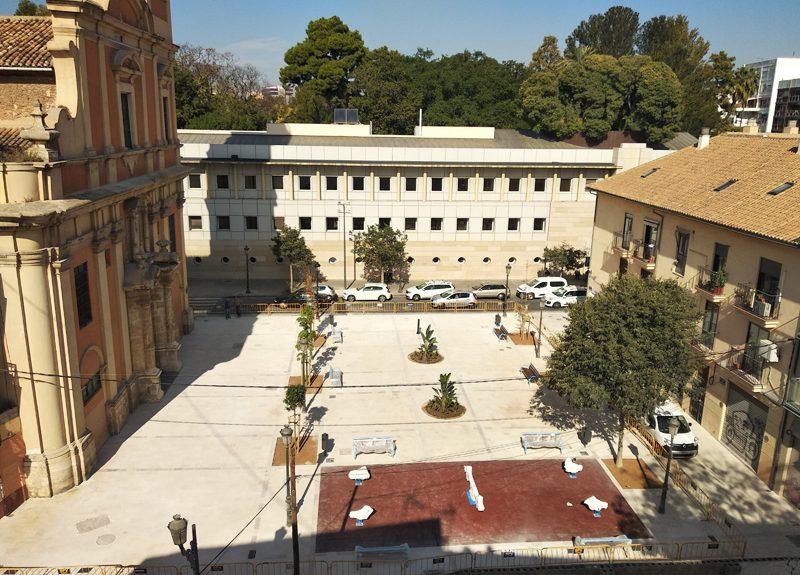 Imágen Obras Plaza San Sebastián 2