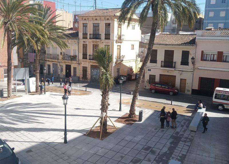 Imágen Vista general Plaza del Rosario